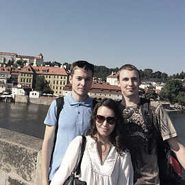 Internship at Czech Republic: sharing experience